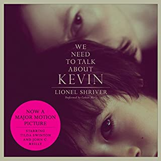 We Need to Talk About Kevin     A Novel              Written by:                                                                                                                                 Lionel Shriver                               Narrated by:                                                                                                                                 Coleen Marlo                      Length: 16 hrs and 9 mins     16 ratings     Overall 4.3
