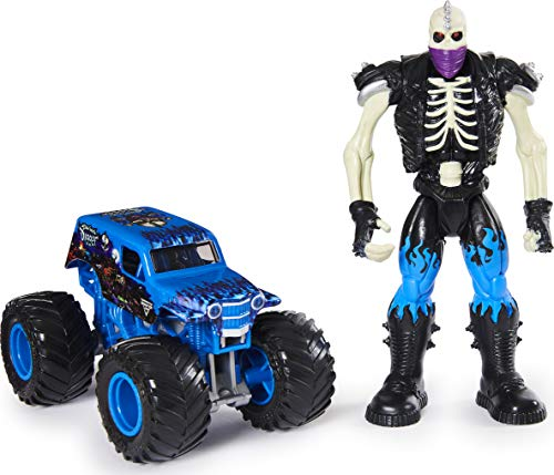 Monster Jam, Official Son-Uva Digger 1:64 Scale Monster Truck and 5-inch Scrap Creatures Action Figure