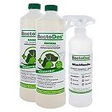 BactoDes Animal Désodorisant concentré anti-odeurs pour animaux...