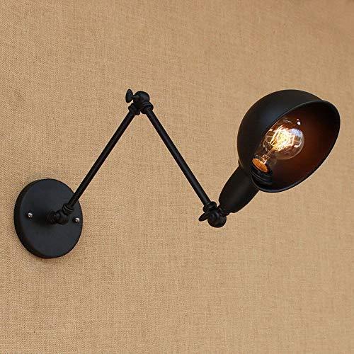 6 kleuren zwenkarm-wandlampen met lange arm messing wandlampen lichtverlichting