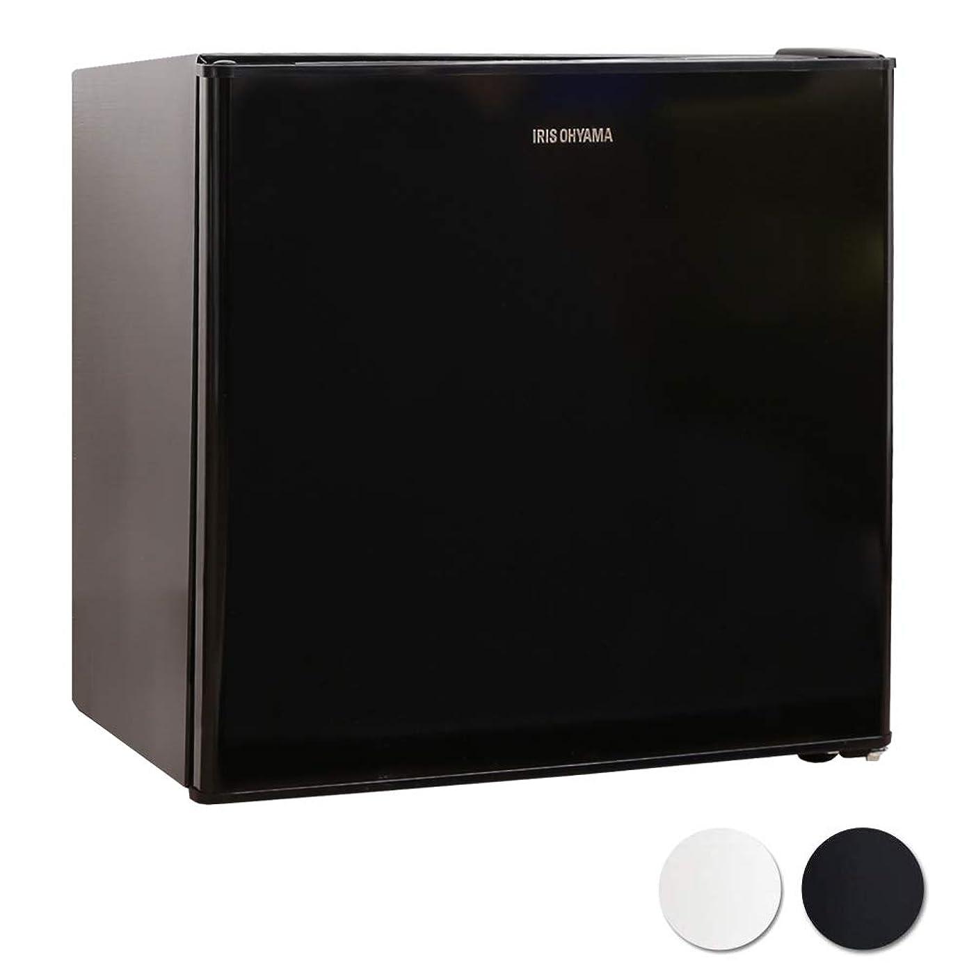 終了しましたプレーヤー免除アイリスオーヤマ 冷蔵庫 42L 小型 静音 1ドア ノンフロン 右開き 温度調節5段階 ブラック NRSD-4A-B