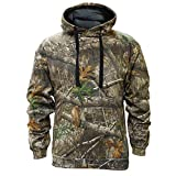 Staghorn Mens All Over Camo Hoodie, Realtree Edge Frame, Large