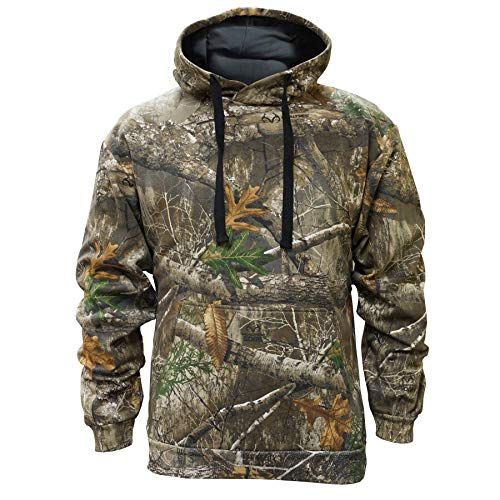 Staghorn Mens All Over Camo Hoodie, Realtree Edge Frame, X-Large