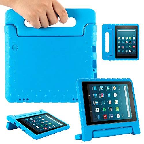 RZL Pad y Tab Fundas para Amazon Fire HD 8 Pulgadas 2020, EVA Kids Tablet Tablet Tablet Funda para niños para Amazon Fire HD 8 Plus 2020 (Color : Blue)