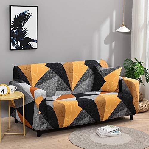 Fundas de Spandex para sofá para Sala de Estar, Funda elástica para sofá, Fundas para sillón, Protector de Muebles A21, 3 plazas