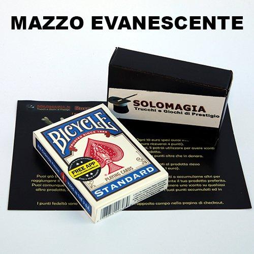 SOLOMAGIA Mazzo di Carte Bicycle - Mazzo evanescente - Dorso Blu