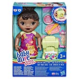 Baby Alive - Snackin Pasta - Poupee Cheveux Noirs