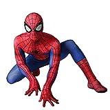 スパイダーマン 全身タイツ 弾力と伸縮性あり ライクラ 赤 子供用 大人用 165-175cm コスチューム コスプレ衣装  仮装 変装 誕生日 プレゼント スパイダーマン コスプレ