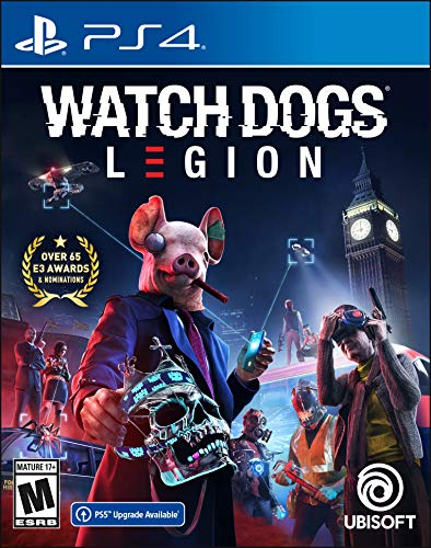 Amazon.com: Watch Dogs Legion - PlayStation 4 Standard Edition: Ubisoft: Video Games $29.99