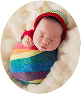 Newborn Baby Photo Props Wrap Cloth Blanket Swaddle for Boys Girls Photography Shoot