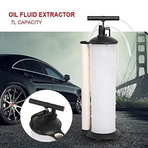 7L Ölabsaugpumpe Batteriepumpe Handpumpe für Motoröl, Benzin, Alkohol, Brennstoff, Wasser, Interessen Vakuum Transfer