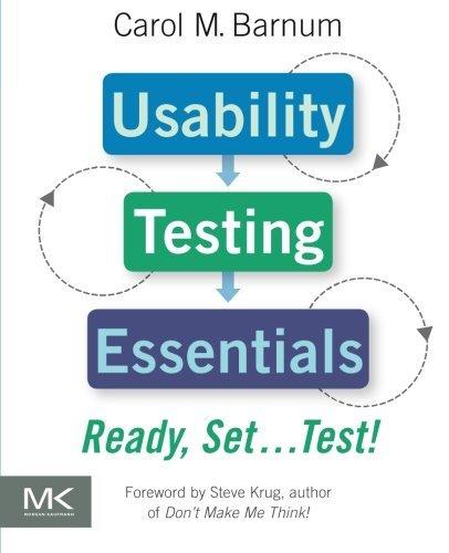 Usability Testing Essentials: Ready, Set.Test! by Carol M. Barnum(2010-11-05)
