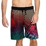 Star Wars Pantalones Cortos de natación Hombre Trooper & Stripes Elven Forest - L