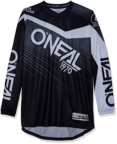 O'NEAL Element Racewear FR Jersey Trikot lang schwarz/grau 2018 Oneal: Größe: L (52/54)