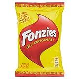 Fonzies - Croccantini di Mais al Formaggio, Cotti al Forno - 10 buste da 40 grammi