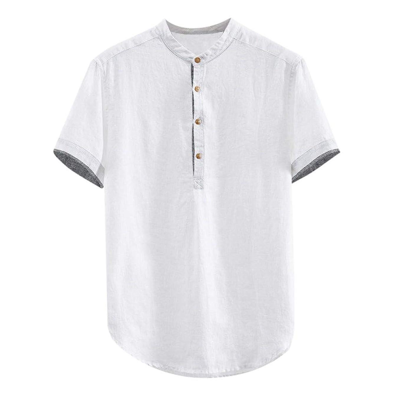 尋ねる無謀ツールシャツ メンズ 半袖 tシャツ 無地 リネン ポロシャツ カジュアル ボタン プルオーバー 薄手 通気性 夏服 おおきいサイズ ビジネス ティーシャツ オシャレ 人気 トップス 通勤 柔らかい ゆったり スウェット おしゃれ トレーナー ゴルフ