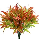 GKONGU Fiori artificiali Morning Glory,4 Pezzi mazzi di fiori artificiali,piante Finti di ...