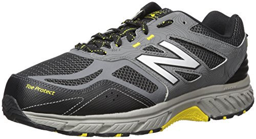 New Balance Men's 510 V4 Trail Running Shoe, Castlerock/Black, 10 XW US