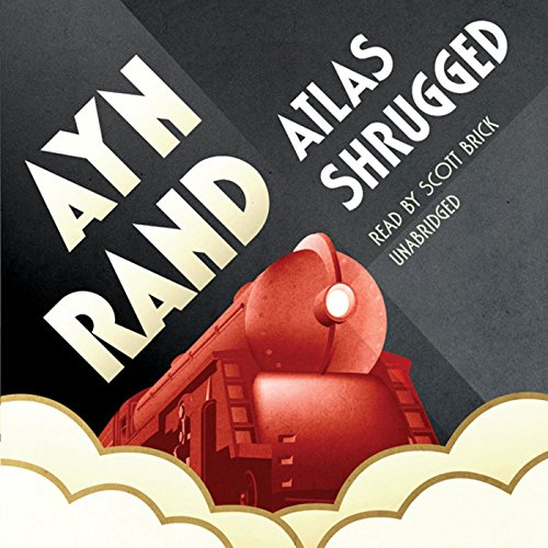 Atlas Shrugged                   By:                                                                                                                                 Ayn Rand                               Narrated by:                                                                                                                                 Scott Brick                      Length: 62 hrs and 56 mins     12,398 ratings     Overall 4.4
