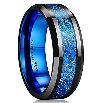 blue rings for men