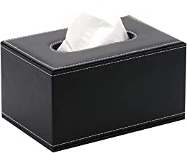 Baskets & Bins Leather Tissue Box Creative Living Room Paper Drawer Simple Car Drawer Box Hotel Gift Logo Custom Advertise...
