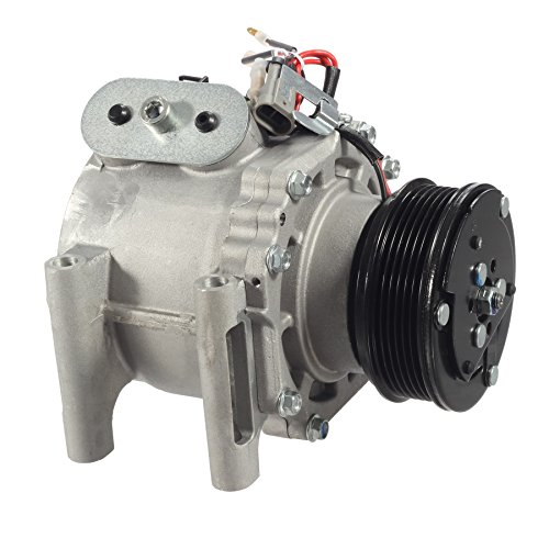 AUTEX AC Compressor & A/C Clutch CO 4910AC Fits 4.2L Only Replacement for Chevrolet Trailblazer & GMC Envoy 2002 2003 2004 2005 2006 2007 2008 2009 & Buick Rainier 2004 2005 2006 2007