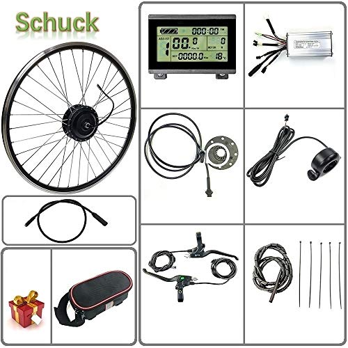 Buy Schuck 36V 48V 500W 16''/20/24/26/27.5/28/29/700C Front Wheel Electric Bicycle Conversion ...