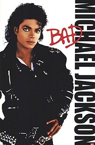 The Poster Corp Michael Jackson - Bad Laminiertes Plakat (60,96 x 91,44 cm)