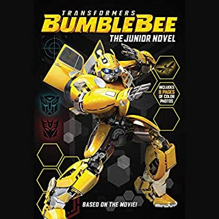 Transformers Bumblebee: The Junior Novel audiobook cover art