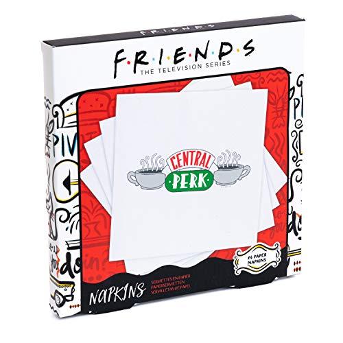 Central Perk Servilletas - 24 servilletas de papel para fiestas