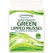Green Lipped Mussel | 180 Capsules | PureNature