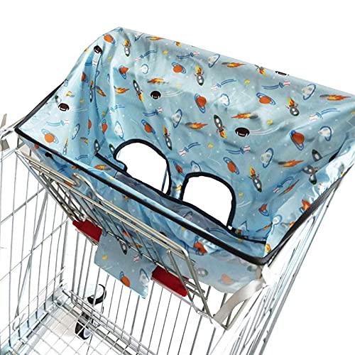 solawill Proteggi Seggiolino Carrello per Bambini, Copertura Seduta Bimbi, Bambino supermercato carrello spesa coperture bambino seggiolone universale e carrello cuscino