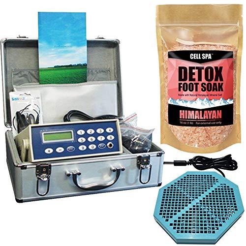 Cell Spa, Fir Belt Chi Ionic Ion Detox Machine Foot Bath Aqua Spa Cleanse With Twice Powerful CS-900 Array (HIMALAYAN)