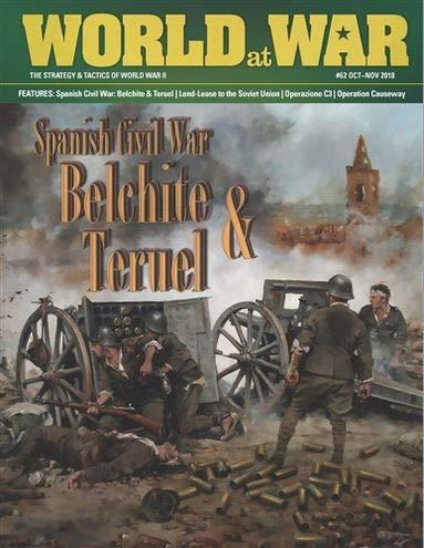 DG: World at War Magazine #62, with Spanish Civil War Battles, Belchite, Teruel & Alfambra, Boardgames