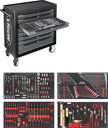 Vigor 1000 XL V4542 ∙ Gesamtlänge: 907 mm ∙ Anzahl Werkzeuge: 375