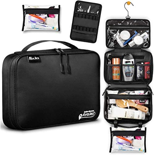 Hanging Travel Toiletry Bag for Men and Women Medium Toiletry Organizer Portable Waterproof product image