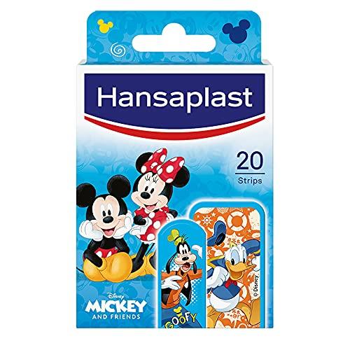 Hansaplast Mickey Mouse and Friends, Cerotti pe bambine, Confezione da 20 cerotti