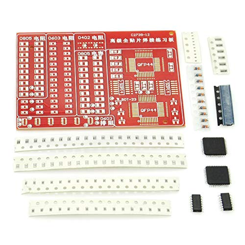 Gikfun SMD SMT Components Practice Board Solder Skill Training Beginner DIY Kit EK1674