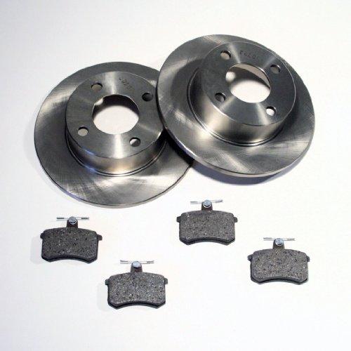 Bremsscheiben Ø 247 mm/Bremsen + Bremsbeläge für hinten/für die Hinterachse