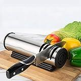 HKDJ-Profesional Afilador De Cuchillos De Cocina Eléctrico, con Base Antideslizante,para Cuchillos De Todo Tamaño del Hogar