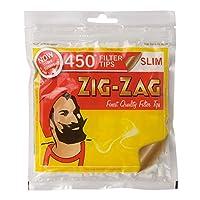 柘製作所(tsuge) ジグザグ・スリムフィルター [約450個入り] #78868 ×2パック 手巻きタバコ
