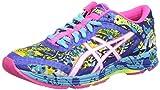 ASICS - Gel-noosa Tri 11, Zapatillas de Running Mujer, Azul (Asics Blue/White/Hot Pink 4301), 40 EU