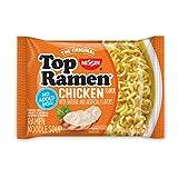Nissin Top Ramen, Chicken, 3 ounce (Pack of 24)