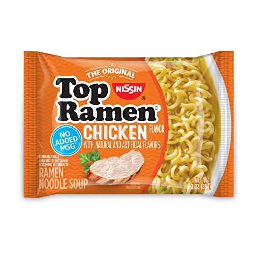 Nissin Top Ramen Chicken - 3 oz - 24 ct