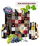 Wein Adventskalender mit 24 außergewöhnlichen Weinsorten aus aller Welt | Geschenk für Erwachsene| Wein aus verschiedenen Ländern trinken | neue Rotweine Weißweine probieren |...