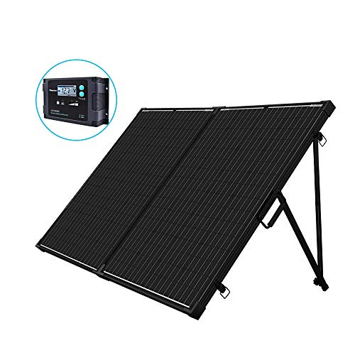Renogy 200W 12V mono Solarkoffer wasserdicht 20A Solarregler LCD für...
