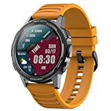 ZGZYL X28 Smart Watch 1.32 Pulgadas 360 * 360 Píxeles Pixel IP68 Pedómetro Impermeable Sangre Oxigeno Monitoreo De Ritmo Cardíaco Deportes Reloj Inteligente Al Aire Libre para Android iOS,A