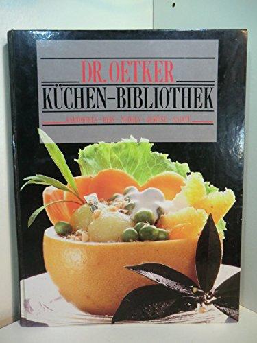 Küchen- Bibliothek. Kartoffeln, Reis, Nudeln, Gemüse, Salate