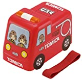 立体トミカ 弁当箱 消防車