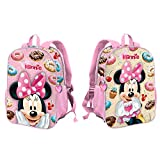 Minnie Mouse Yummy-Mochila Dual Pequeña, Rosa